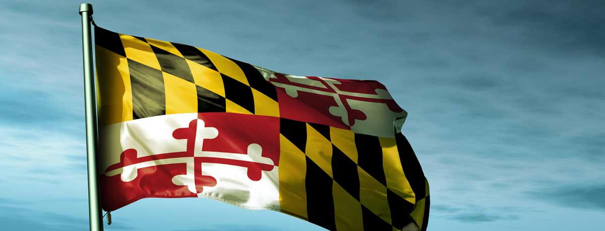 Maryland Flag for NAOVI CAT+ Prime COntract